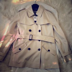 NEW Double Breasted Coach Coat NWT
